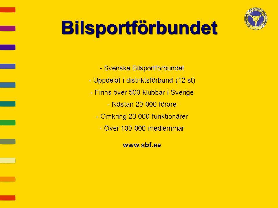 Bilsportförbundet - Svenska Bilsportförbundet