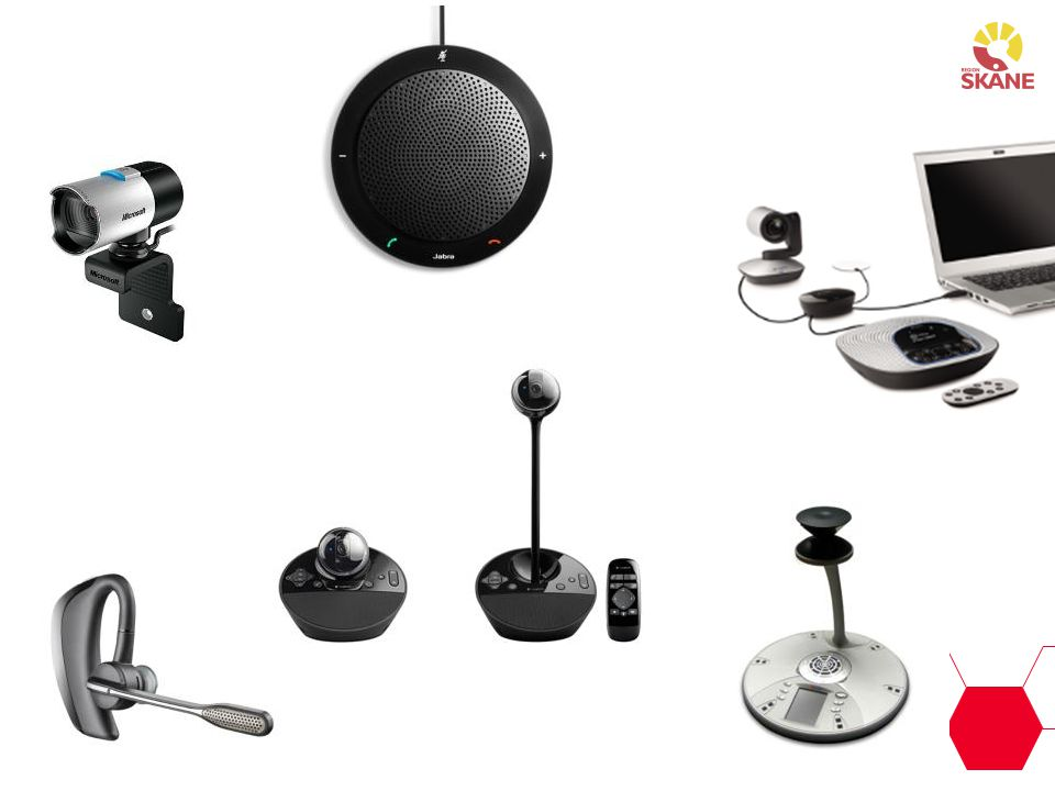 Olika typer av utrustning för olika behov