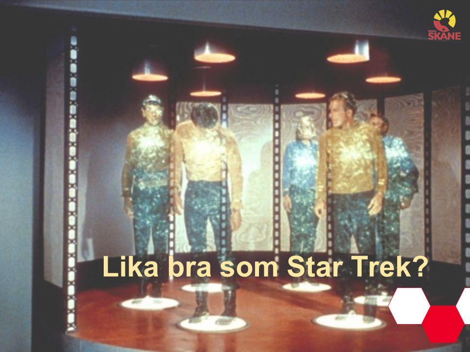 Lika bra som Star Trek