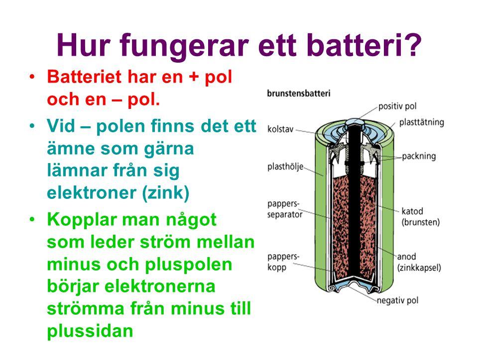 Hur fungerar ett batteri