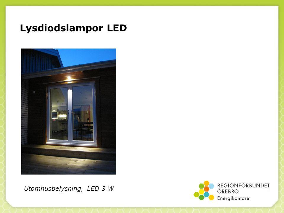 Lysdiodslampor LED Utomhusbelysning, LED 3 W 43
