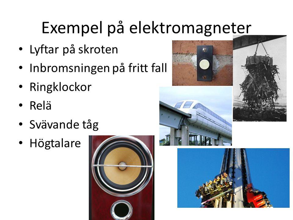 Exempel på elektromagneter