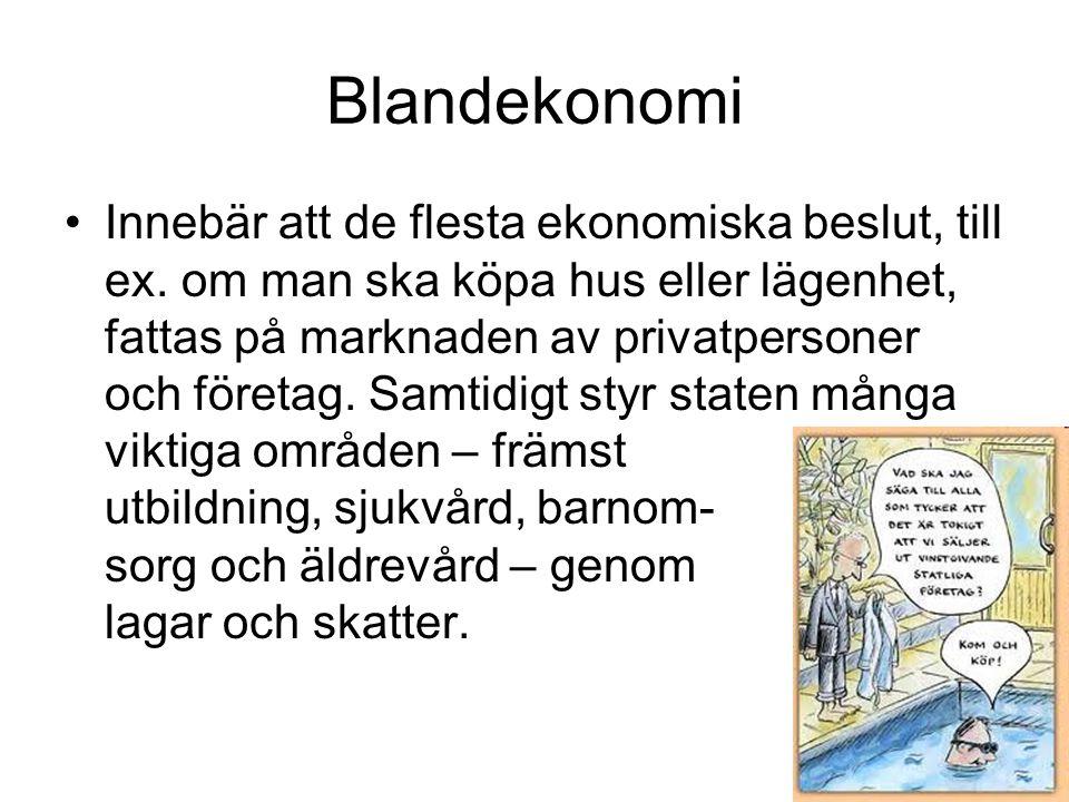 Blandekonomi