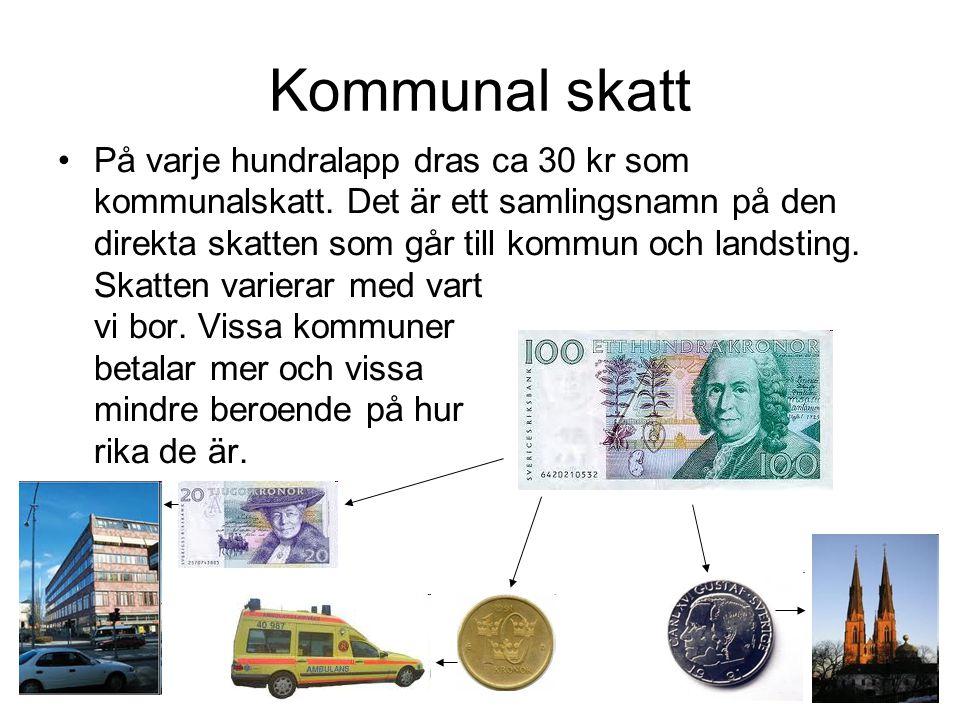 Kommunal skatt