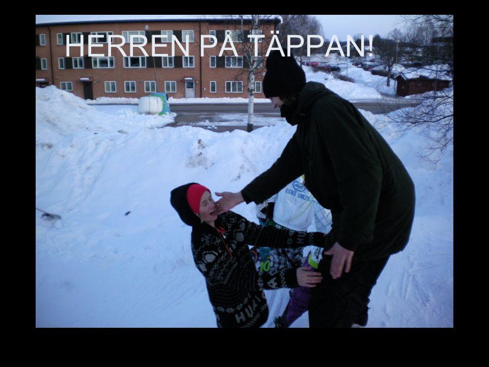 HERREN PÅ TÄPPAN!