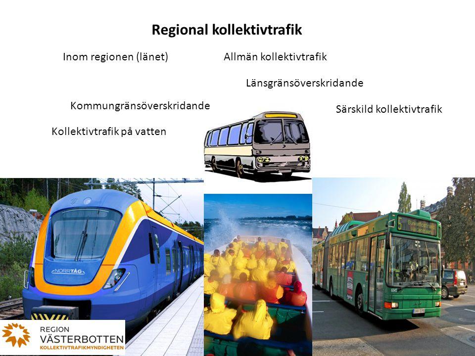 Regional kollektivtrafik