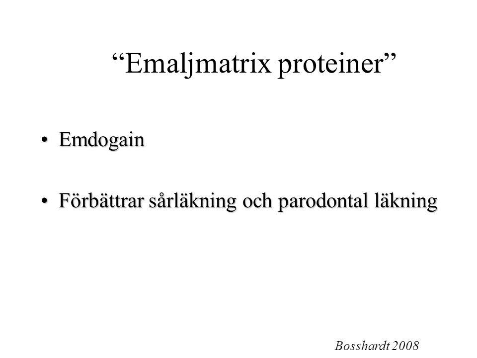 Emaljmatrix proteiner