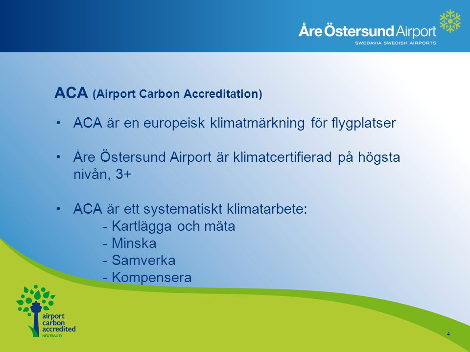ACA (Airport Carbon Accreditation)