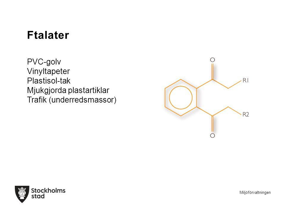 Ftalater PVC-golv Vinyltapeter Plastisol-tak Mjukgjorda plastartiklar