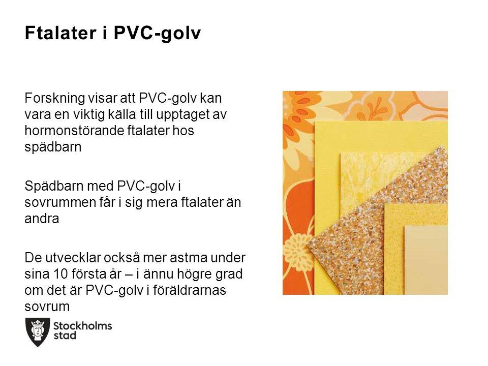 Ftalater i PVC-golv