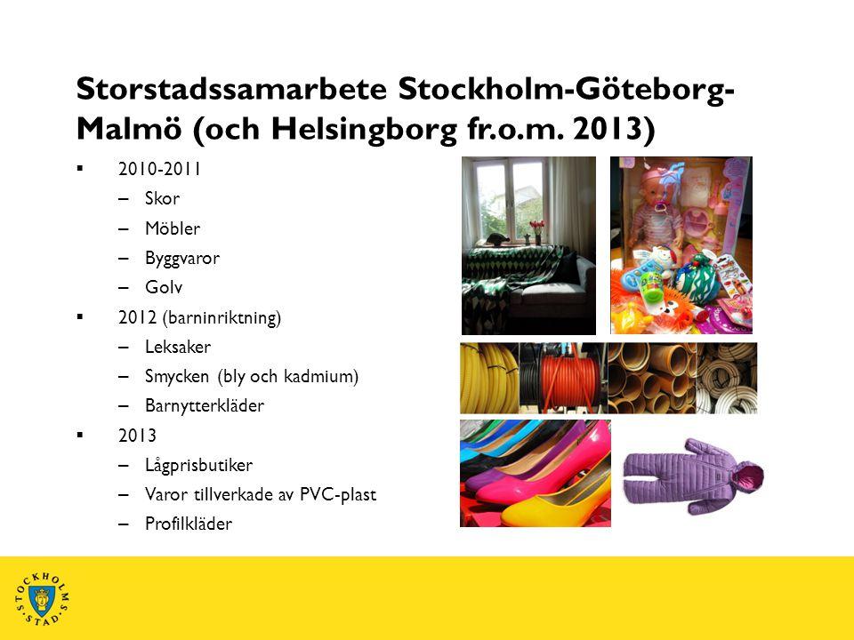 Storstadssamarbete Stockholm-Göteborg-Malmö (och Helsingborg fr. o. m