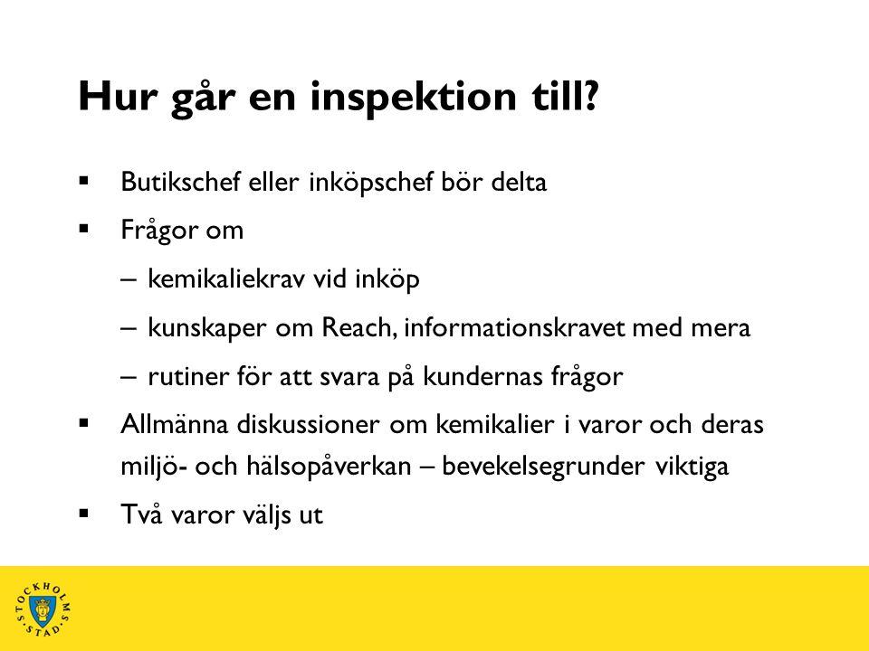 Hur går en inspektion till