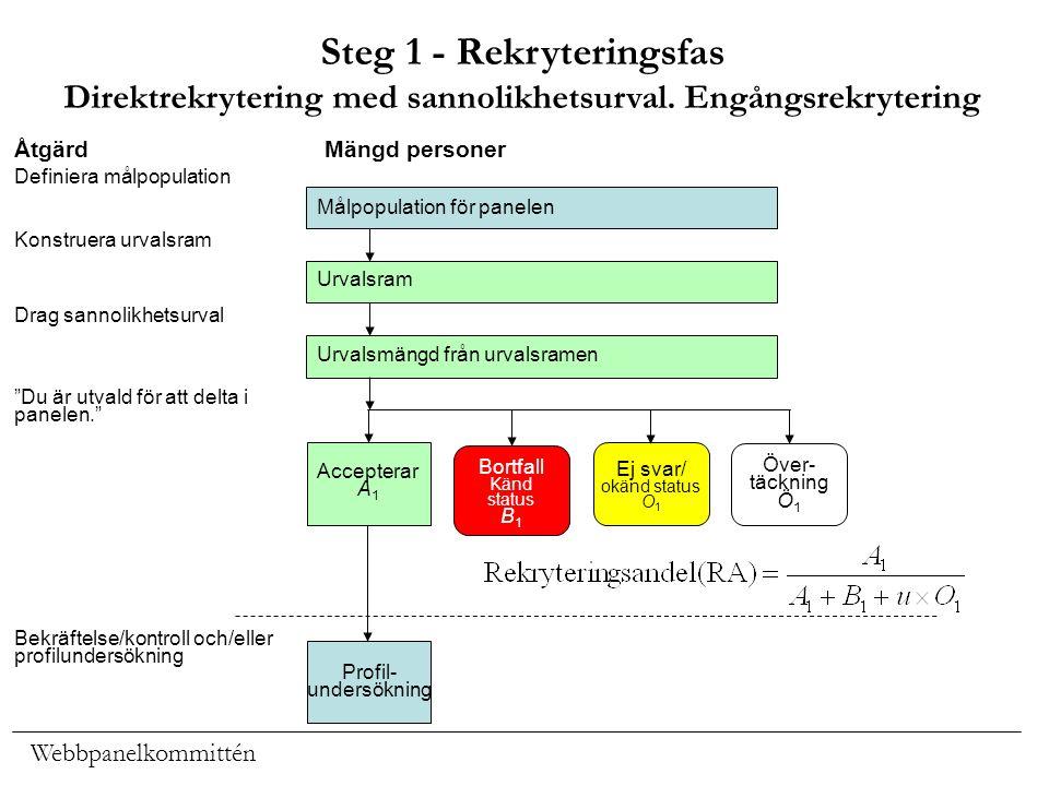 Steg 1 - Rekryteringsfas