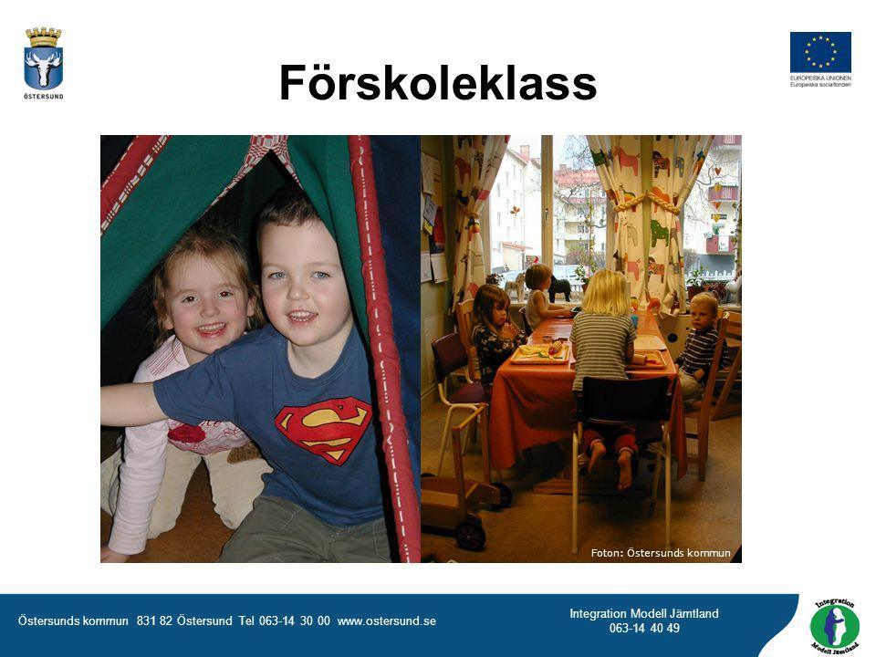 Förskoleklass Foton: Östersunds kommun