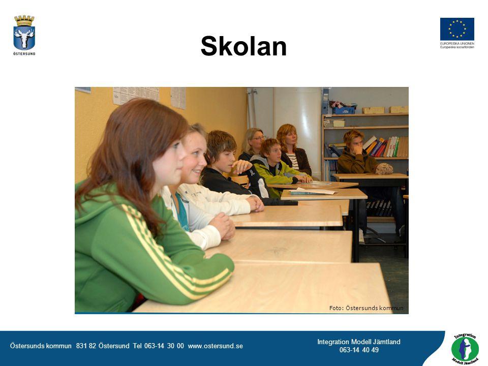Skolan Foto: Östersunds kommun