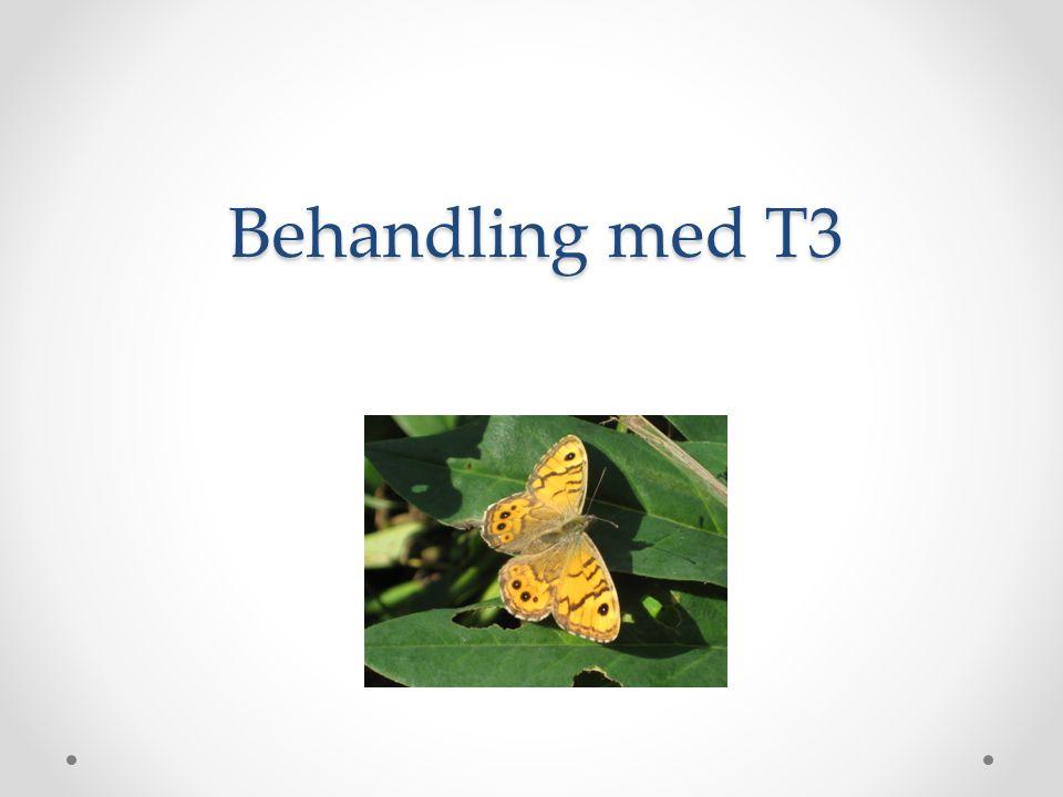 Behandling med T3
