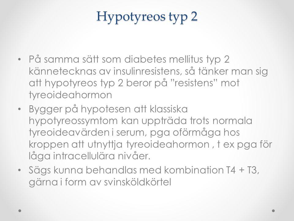 Hypotyreos typ 2