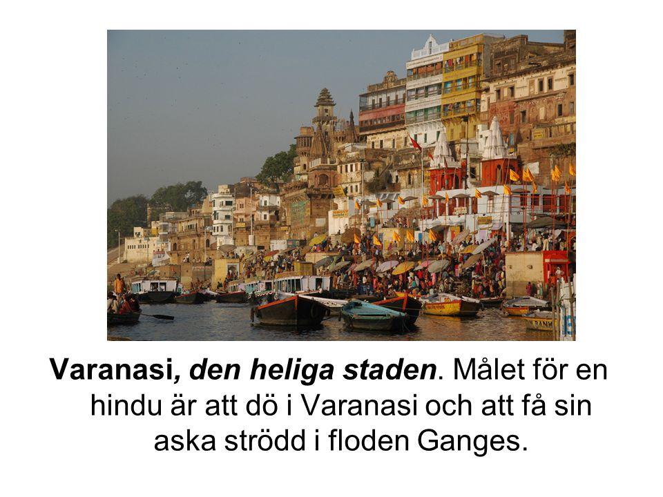 Varanasi, den heliga staden