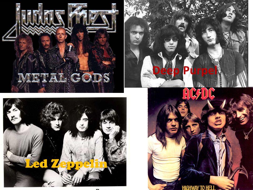 Deep Purpel Led Zeppelin