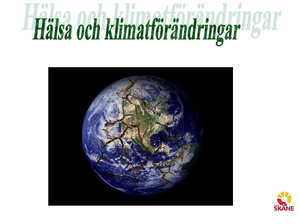 Hälsa och klimatförändringar