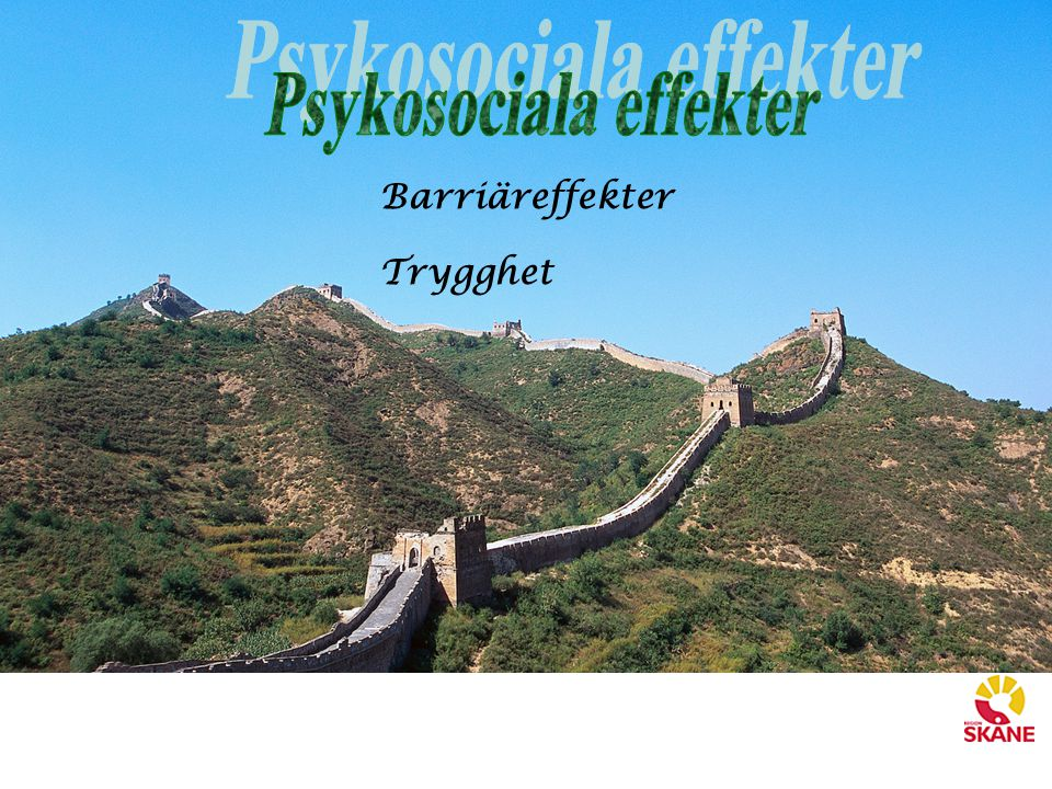Psykosociala effekter
