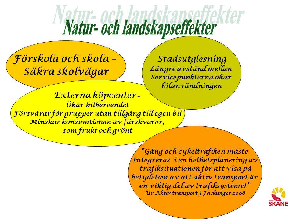 Natur- och landskapseffekter
