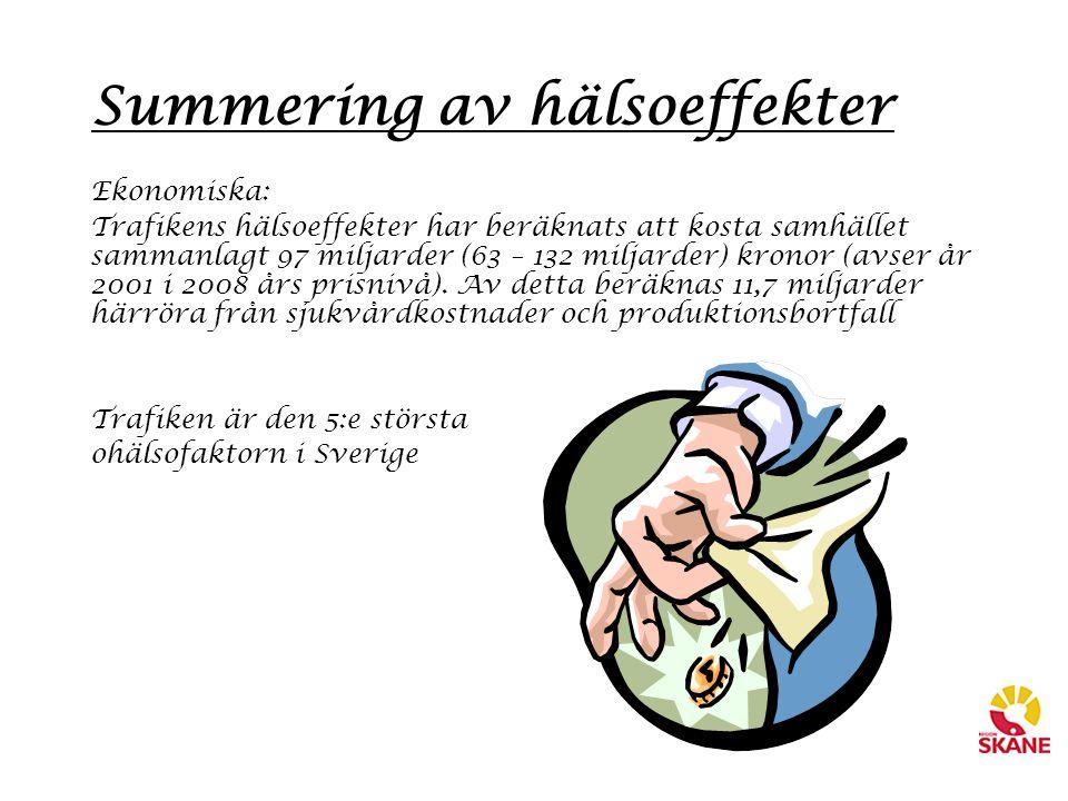 Summering av hälsoeffekter