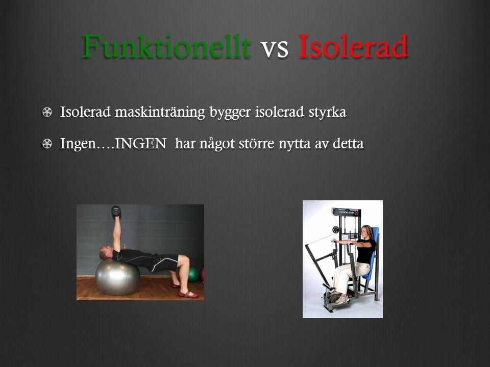 Funktionellt vs Isolerad