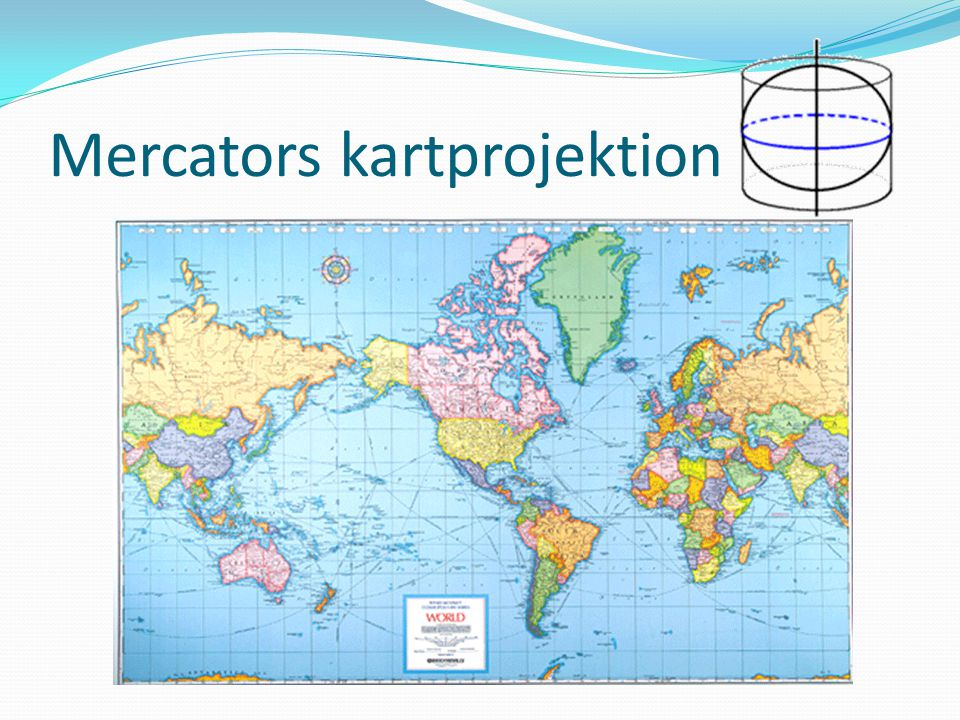 Mercators kartprojektion