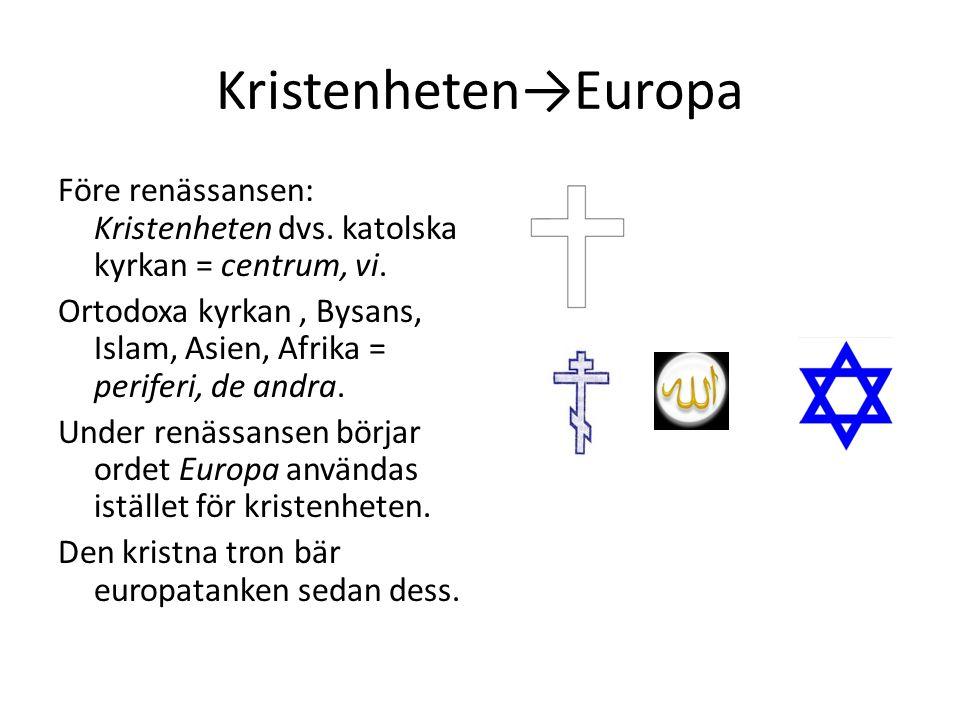 Kristenheten→Europa