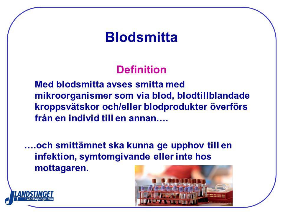 Blodsmitta Definition