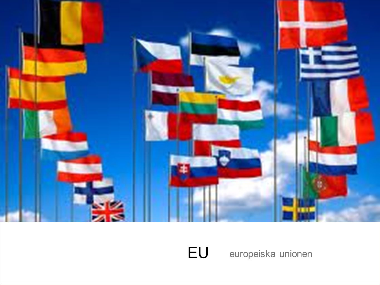 EU europeiska unionen
