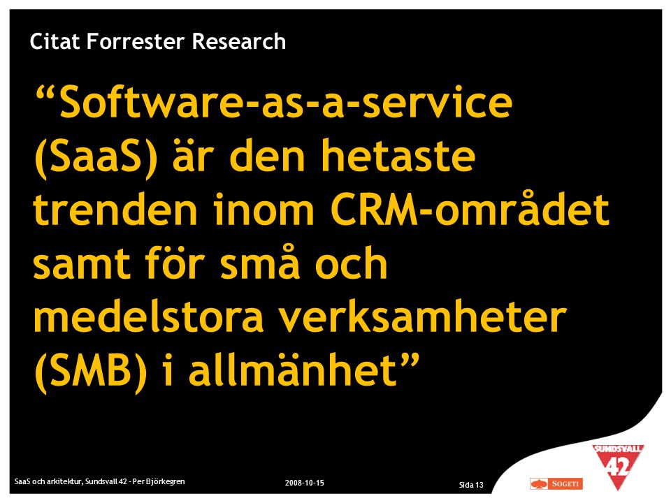 Citat Forrester Research