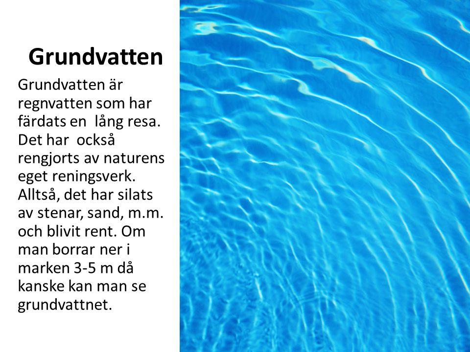 Grundvatten