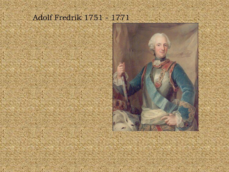 Adolf Fredrik 1751 - 1771