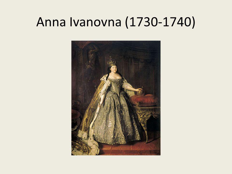 Anna Ivanovna (1730-1740)