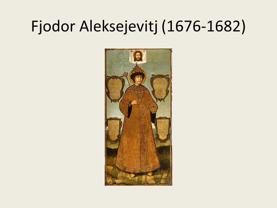 Fjodor Aleksejevitj (1676-1682)