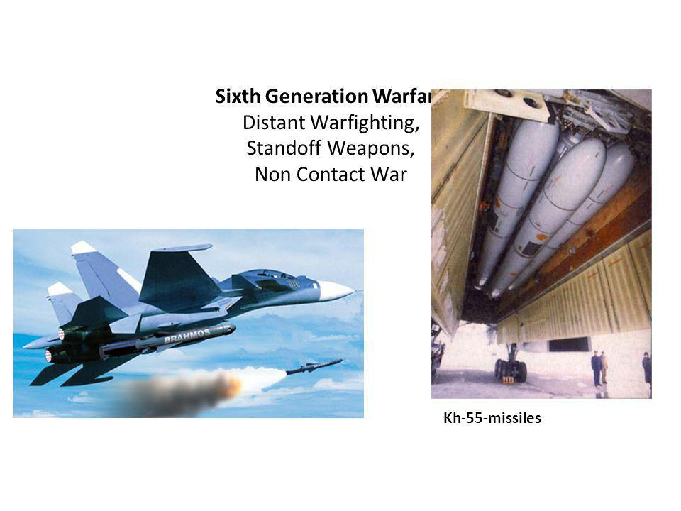 Sixth Generation Warfare Distant Warfighting, Standoff Weapons, Non Contact War