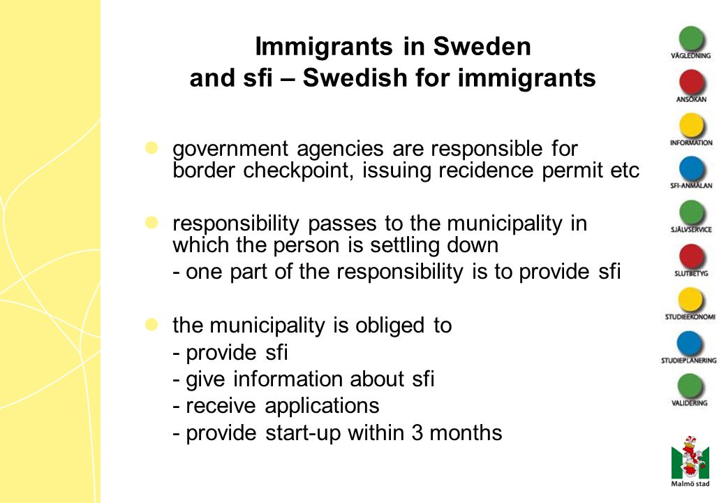 Immigrants in Sweden and sfi – Swedish for immigrants