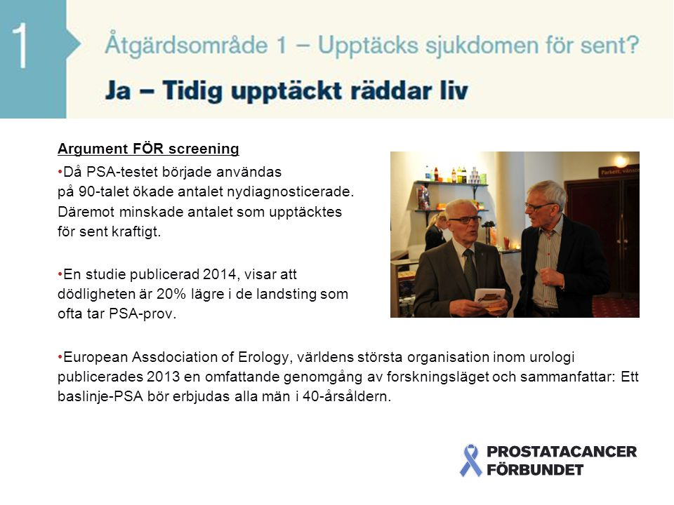 Argument för screening