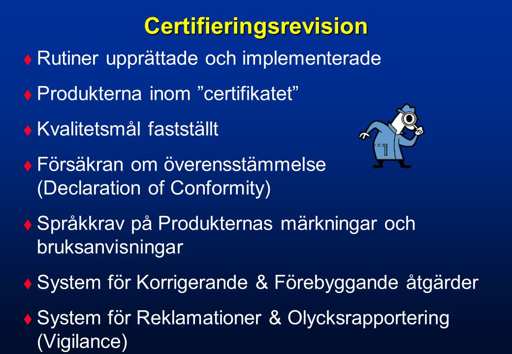 Certifieringsrevision