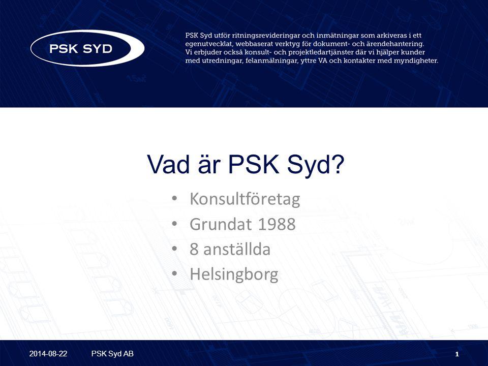 Konsultföretag Grundat 1988 8 anställda Helsingborg