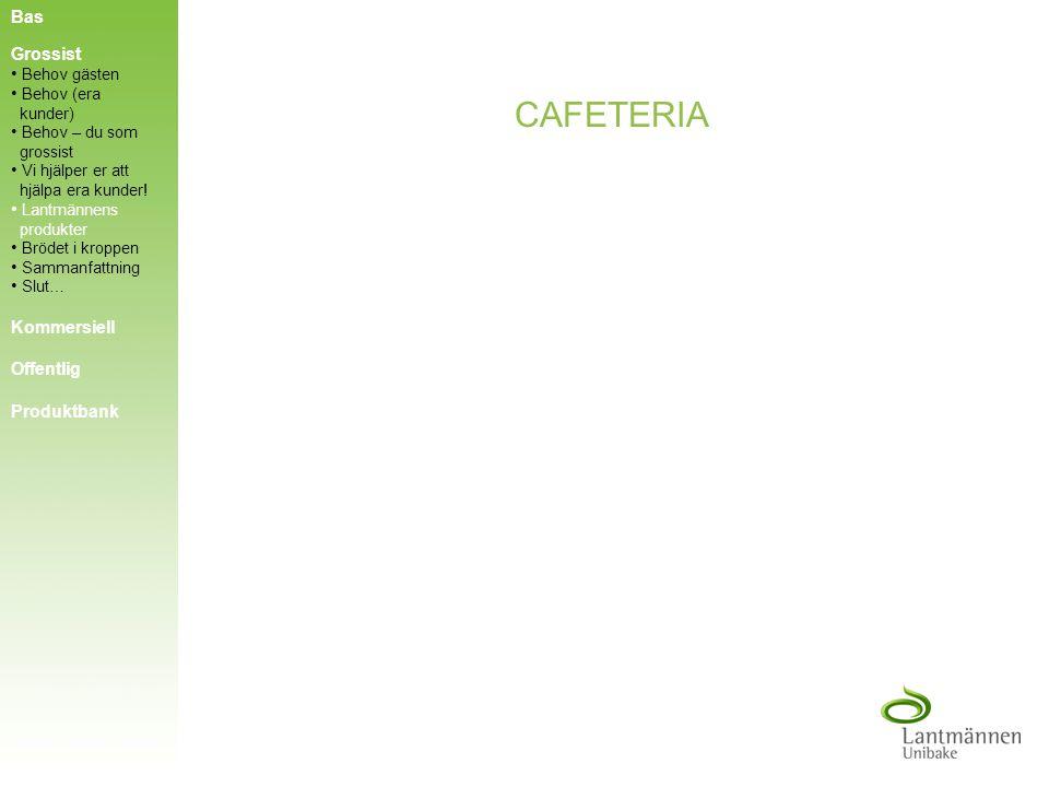 CAFETERIA Bas Grossist Kommersiell Offentlig Produktbank Behov gästen