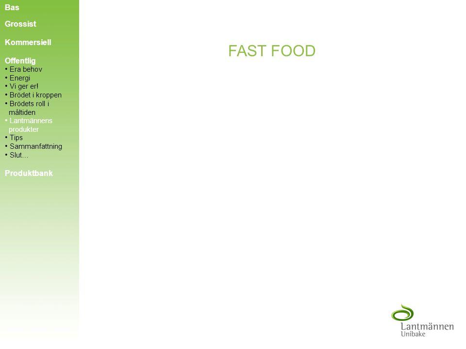 FAST FOOD Bas Grossist Kommersiell Offentlig Produktbank Era behov