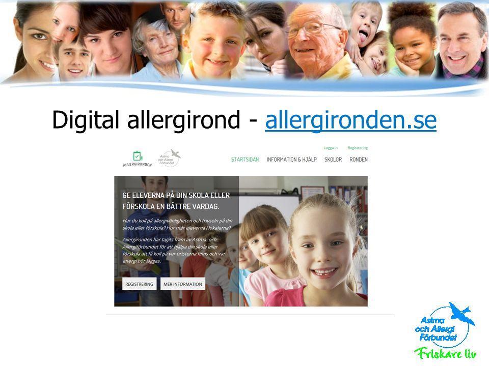 Digital allergirond - allergironden.se
