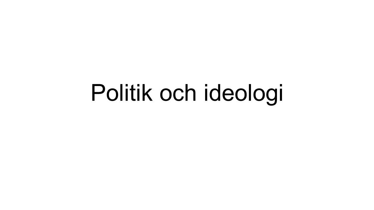 Politik och ideologi