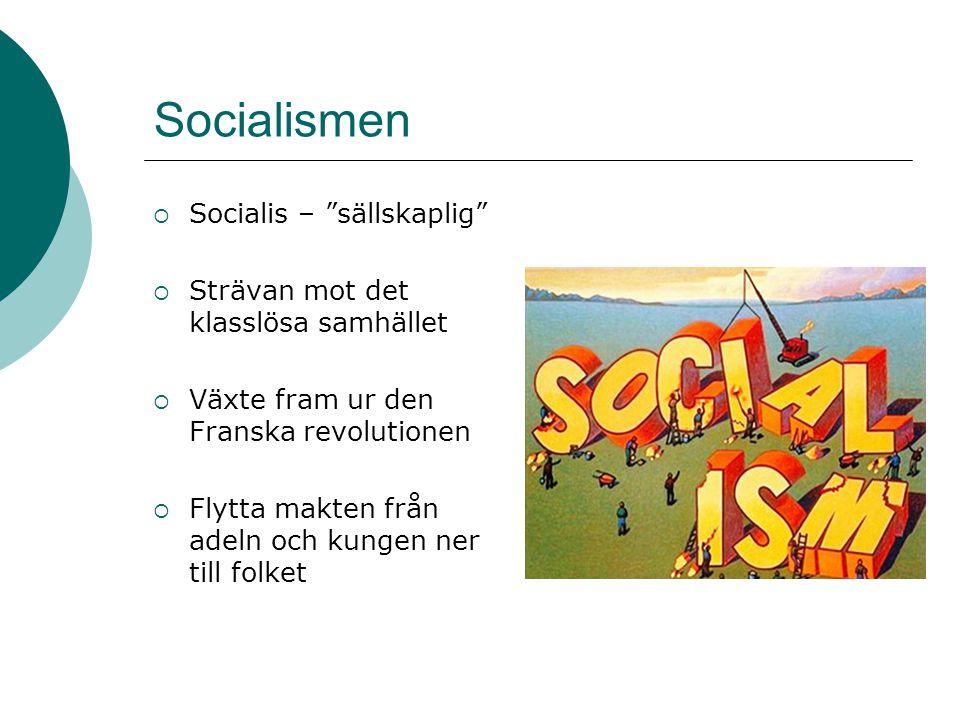 Socialismen Socialis – sällskaplig