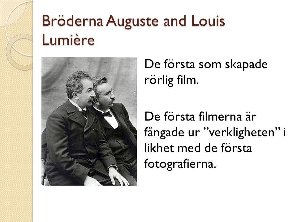 Bröderna Auguste and Louis Lumière