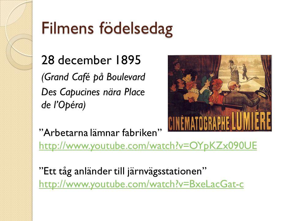 Filmens födelsedag 28 december 1895