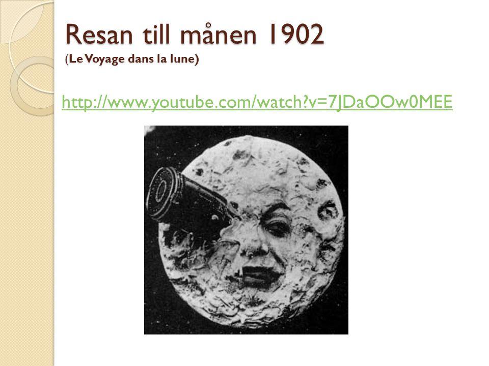 Resan till månen 1902 (Le Voyage dans la lune)